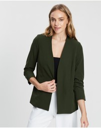 Dorothy Perkins - Ruched Sleeve Jacket