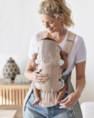 BabyBjorn Baby Carrier Mini - All Baby Carriers (Pink)