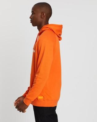 Justin Cassin Los Angeles Pullover Hoodie - Hoodies (Orange)