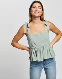 Atmos&Here - Carly Linen Top