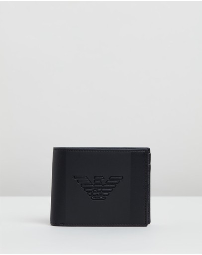 Emporio Armani - Bi-Fold Wallet With Coin Pocket