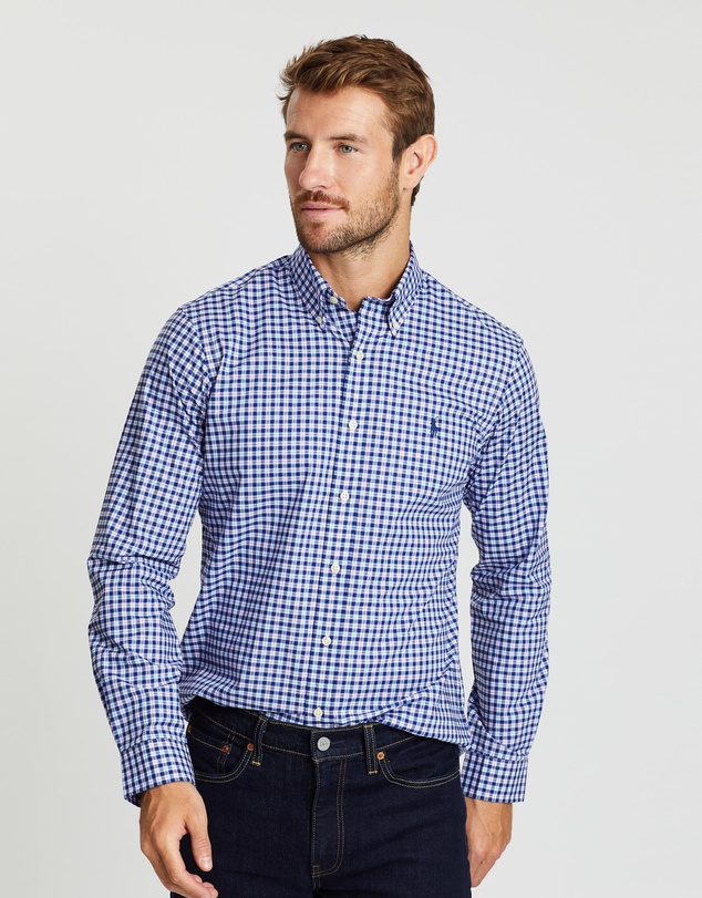 Polo Ralph Lauren - Stretch Poplin Custom Fit Sport Shirt