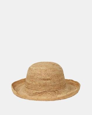 BeforeDark Forever Summer Raffia Breton - Hats (Natural)