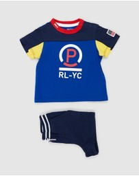 Polo Ralph Lauren - Jersey Short Set - Babies