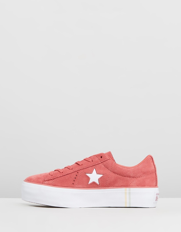 Converse - One Star Platform Seasonal Suede - Women's