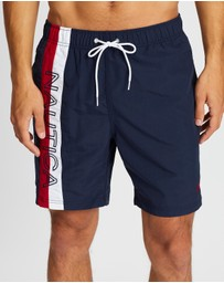 NAUTICA - Surfwashed Colour Block Swim Shorts