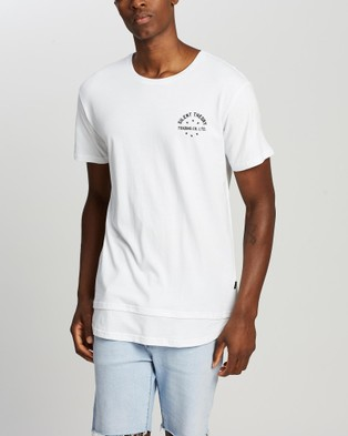 Silent Theory Trade Layered Tee - T-Shirts & Singlets (WHITE)
