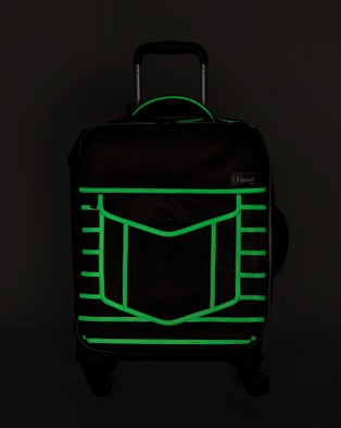 Lipault Paris Nite Box Spinner 55cm Suitcase - Travel and Luggage (Black)