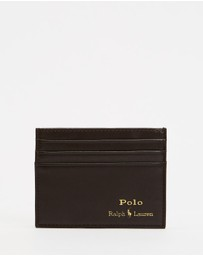 Polo Ralph Lauren - Smooth Leather Credit Card Case
