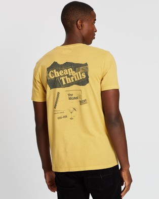 Rusty Hades Short Sleeve Tee - T-Shirts & Singlets (Ochre)