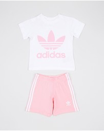 adidas Originals - Unisex Short Tee Set - Babies