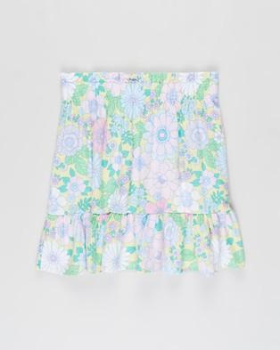 Free by Cotton On Heidi Skirt   Teens - Skirts (Lemon Drop & Retro Floral)