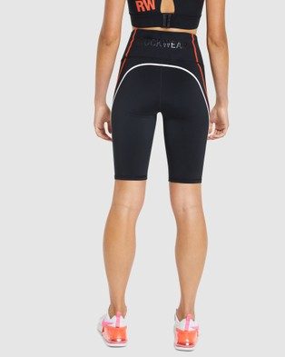 Rockwear Velocity Seam Bike Shorts - 1/2 Tights (BLACK)