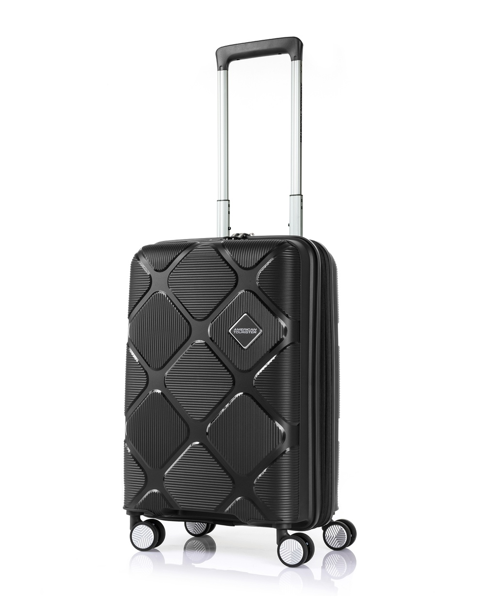 American Tourister Instagon Spinner 55 20 Travel and Luggage Jet Black 55-20