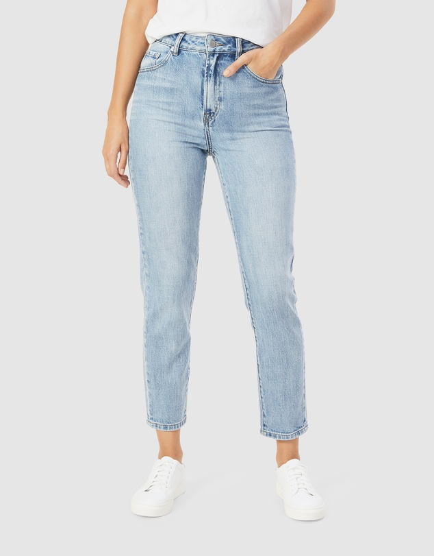 French Connection - High Rise Straight Leg Jean