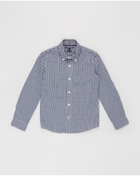 Tommy Hilfiger - Long Sleeve Gingham Shirt - Teens