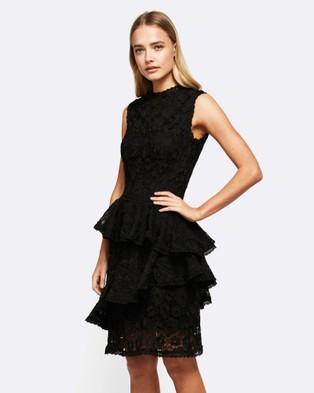 MVN – Sacred Heart Lace Dress Black