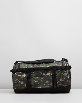 The North Face Base Camp Duffel   S - Outdoors (Burnt Olive Green, Digi Camo & TNF Black)