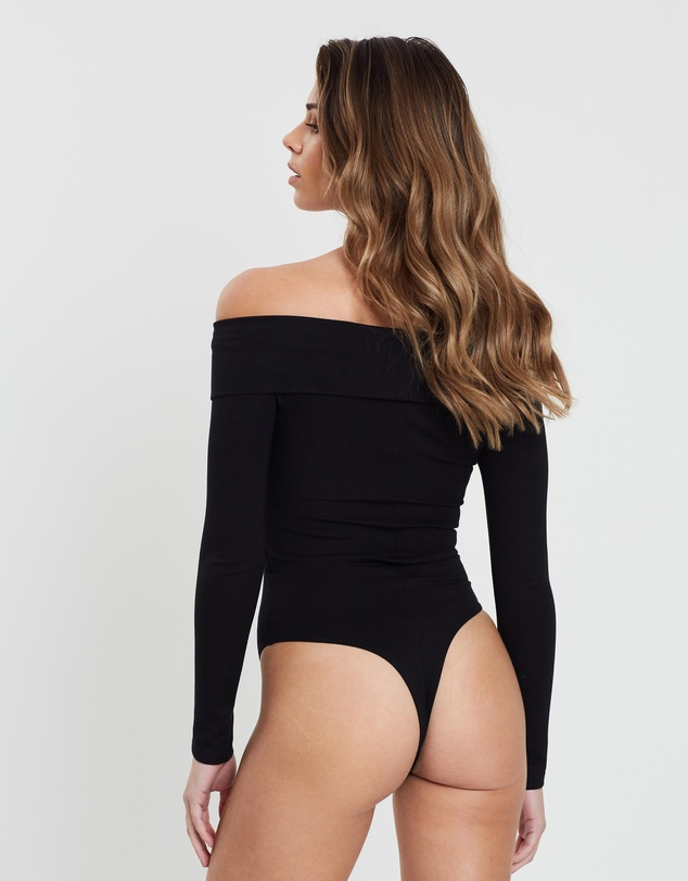 Atmos&Here - Chelsie Cross-Over Bodysuit