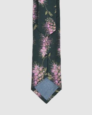 Peggy and Finn - Bottlebrush Tie - Ties (Green) Bottlebrush Tie