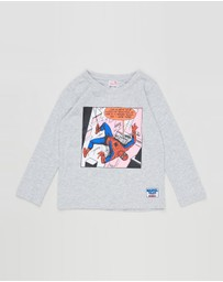 Bonds Kids - LS Cotton Crew Tee - Kids
