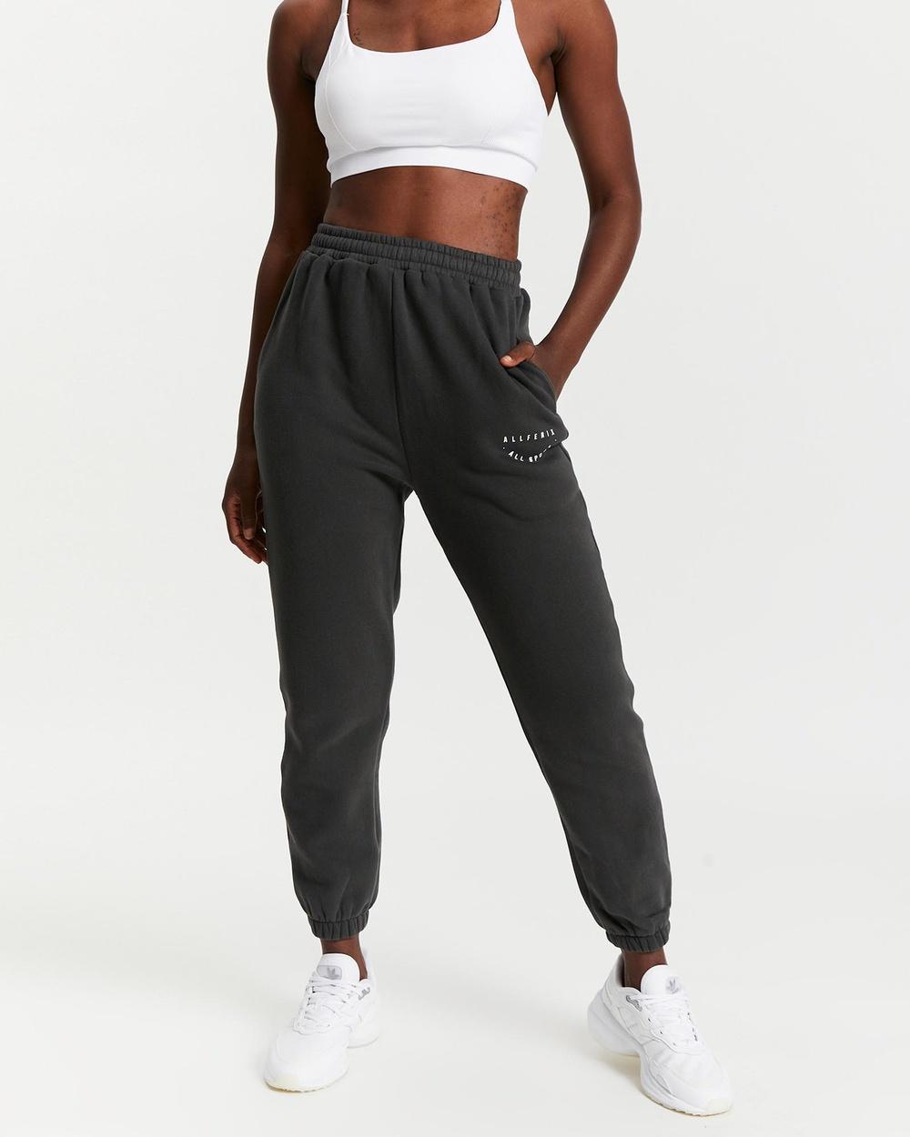 All Fenix Sport Joggers Track Pants Vintage Black
