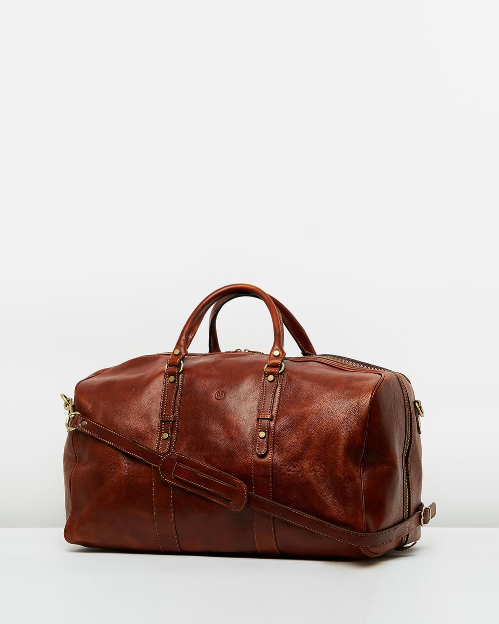 Republic of Florence Marco Polo Duffle Bags Brown