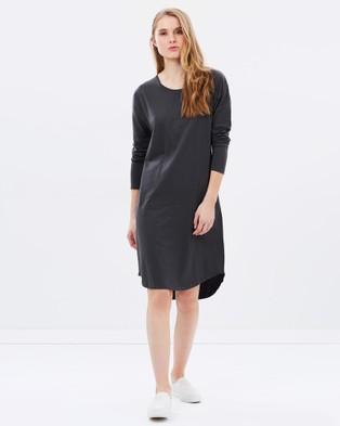 Cloth & Co. – Organic Cotton Long Sleeve Dress Ink