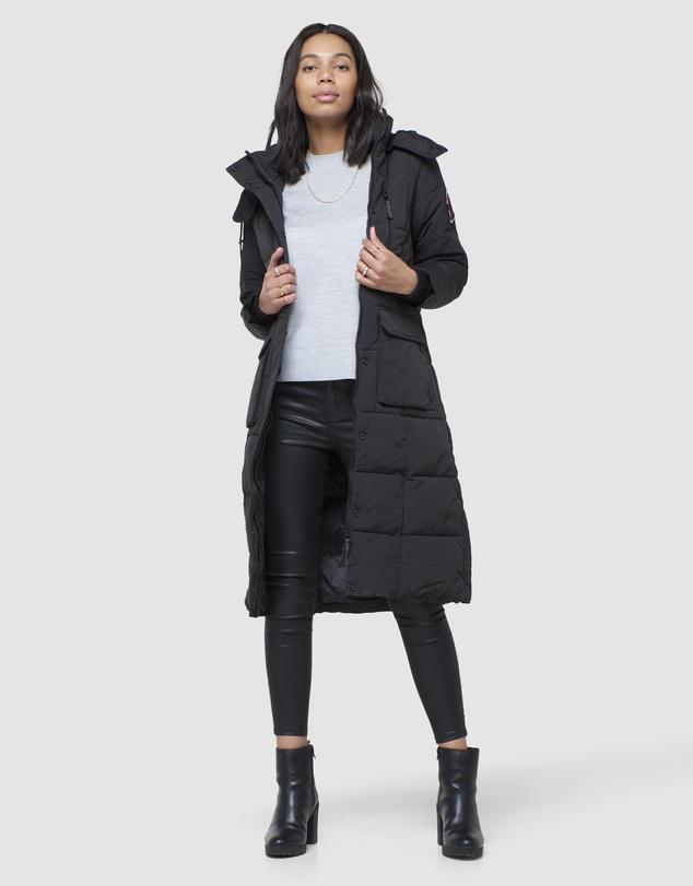 Women Longline Everest Coat