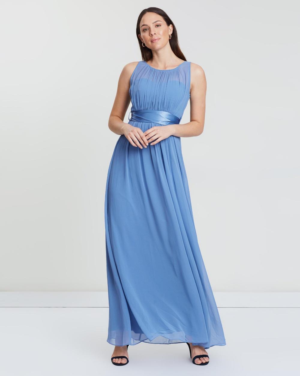 Dorothy Perkins Blue Natalie Maxi Dress