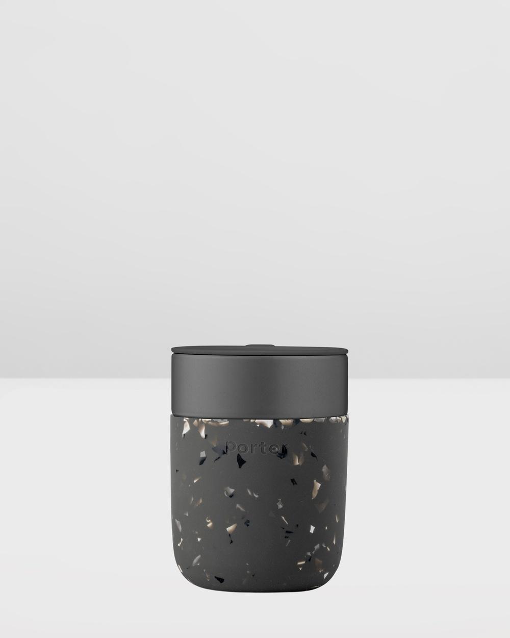 Porter Ceramic Mug Terrazzo 355ml Home Black