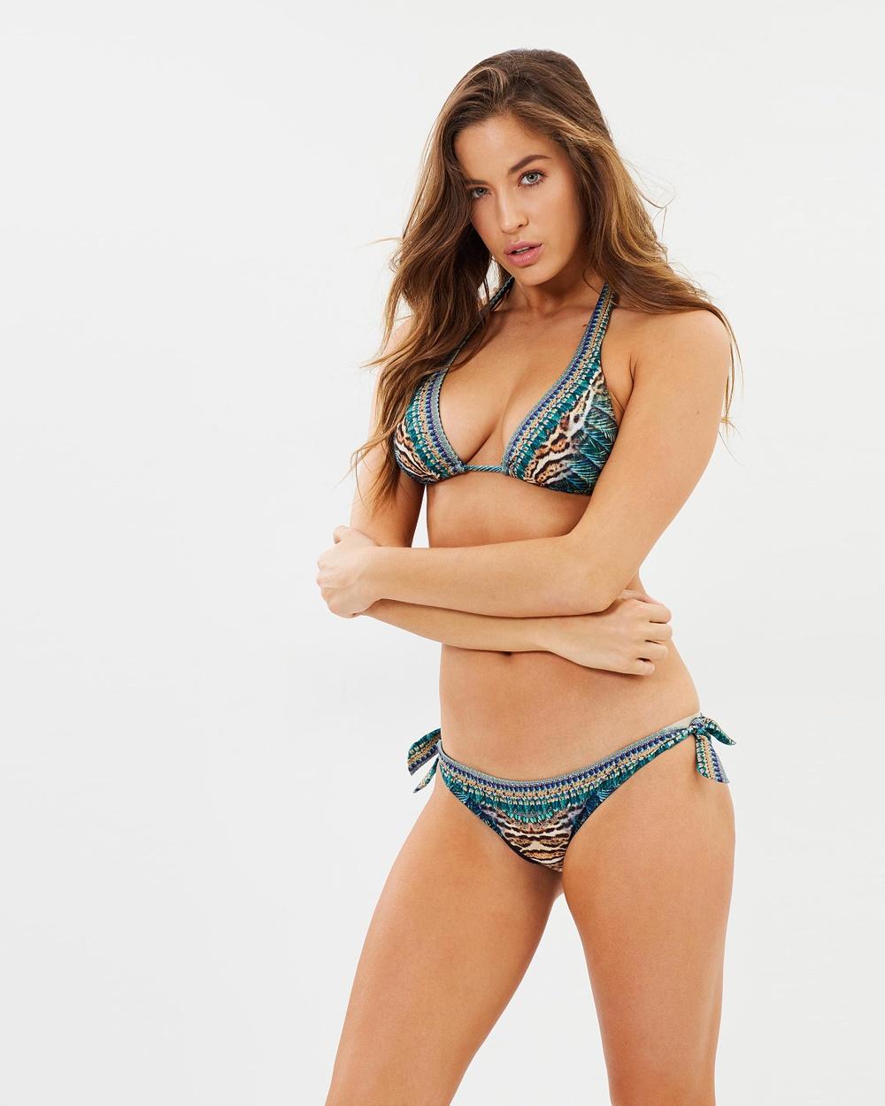 Camilla Tab Tie Pants Bikini Bottoms The Creator Tab Tie Pants