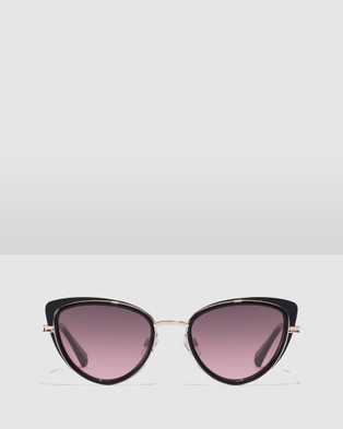 Hawkers Co Black Wine FELINE - Sunglasses (Black)