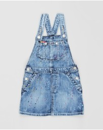 Polo Ralph Lauren - Denim Overall Dress - Kids