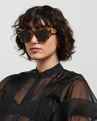 Karen Walker True North Sunglasses Crazy Tort
