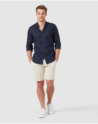 French Connection - Slim Fit Stretch Chino Shorts