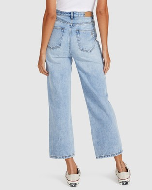 Insight Phoebe Easy Straight Crop Jeans - Jeans (DENIM)