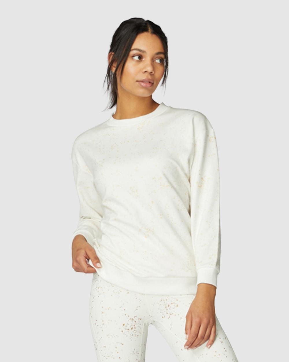 L'urv - Stars Align Sweat - T-Shirts & Singlets (White) Stars Align Sweat