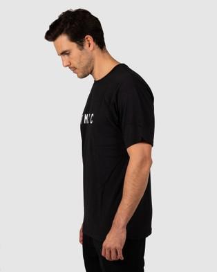 Pedal Mafia PMCC Tee - Short Sleeve T-Shirts (Black/White)