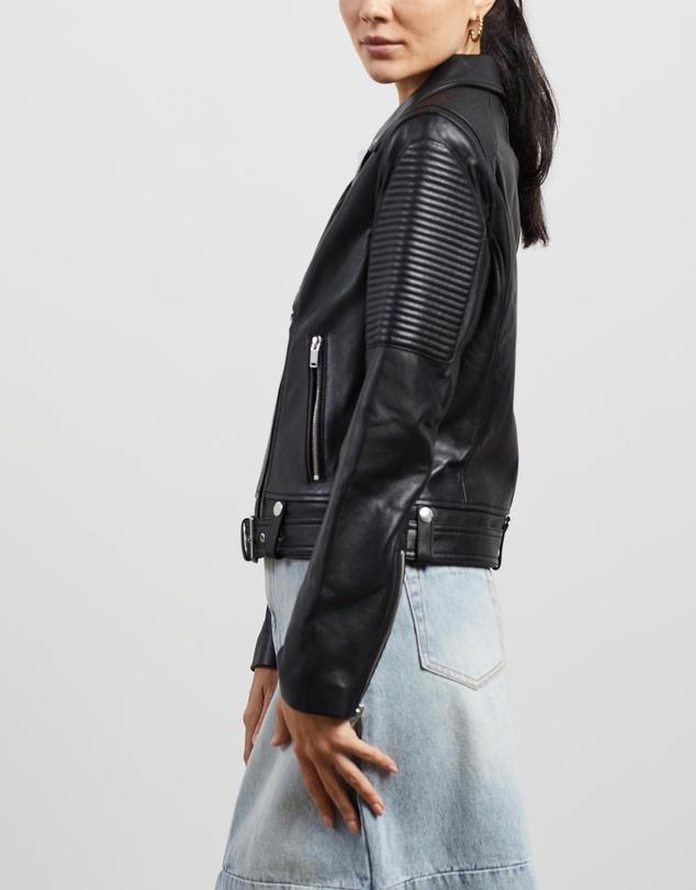 Women Classic Biker Jacket