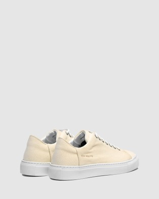 VoR??utte - Lyon Low Top Sneakers - Sneakers (Beige)