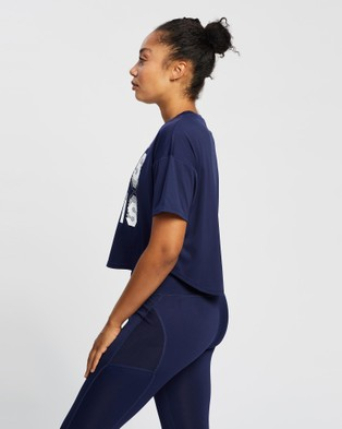 ASICS Gpx Tee   Women's - Short Sleeve T-Shirts (Peacoat)