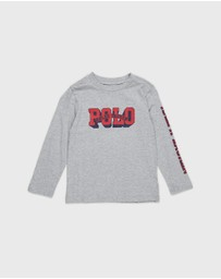 Polo Ralph Lauren - Long Sleeve Crew Neck T-Shirt - Teens