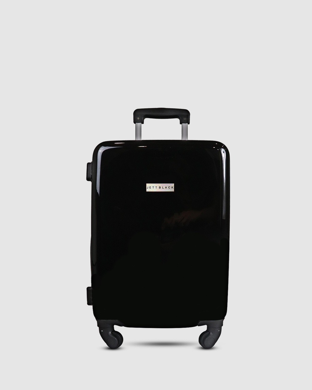 JETT BLACK My JB Series Carry On Suitcase Travel and Luggage Black