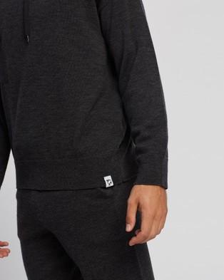 Mcintyre Denny Merino Lite Hoodie - Sweats & Hoodies (Charcoal)