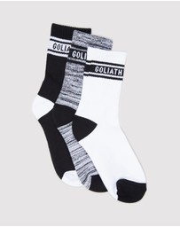 St Goliath - Duke Socks - 3 Pack - Teens