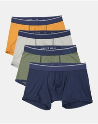 Mojo - Mojo Iconic Trunks 4 Pack