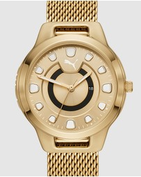 Puma - Reset V1 Gold-Tone Analogue Watch
