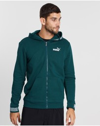 Puma - Amplified Fleece Hooded Jacket