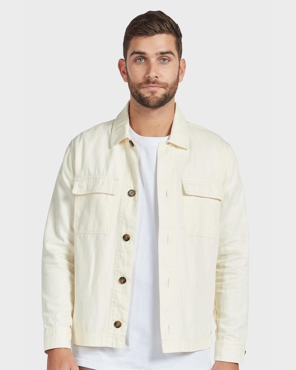 Academy Brand Standard Jacket Coats & Jackets Neutrals